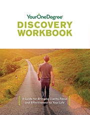 Your One Degre workbook.
